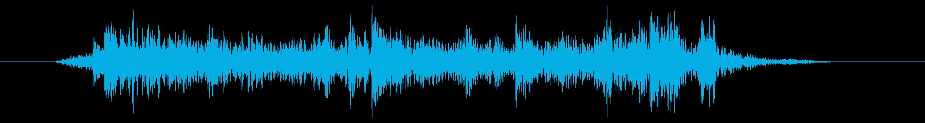 デジタルロック風ドラムフィルの再生済みの波形