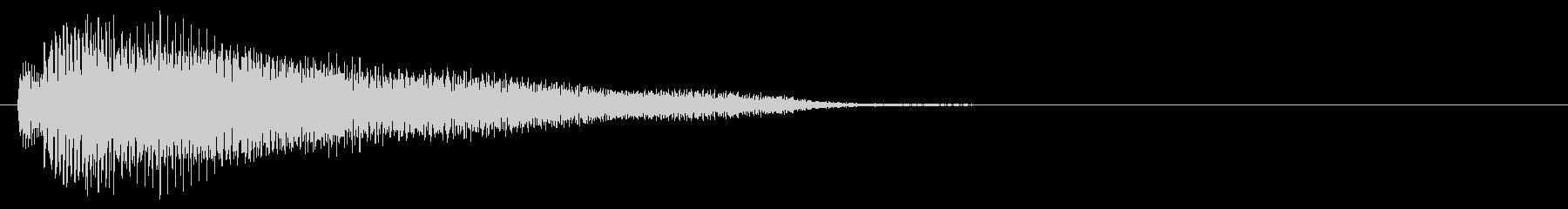 電子音系 タッチ音4(複)の未再生の波形