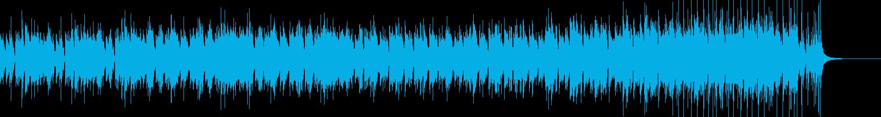 大都会の夜景(メロディーなし版)の再生済みの波形