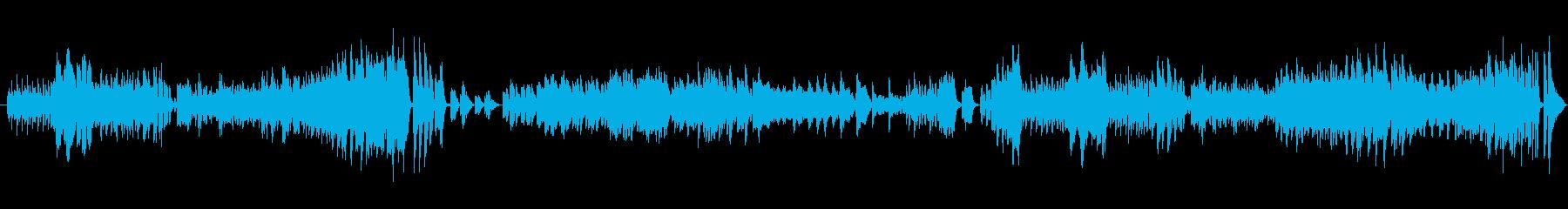 ドビュッシーの小組曲第四番バレエの再生済みの波形