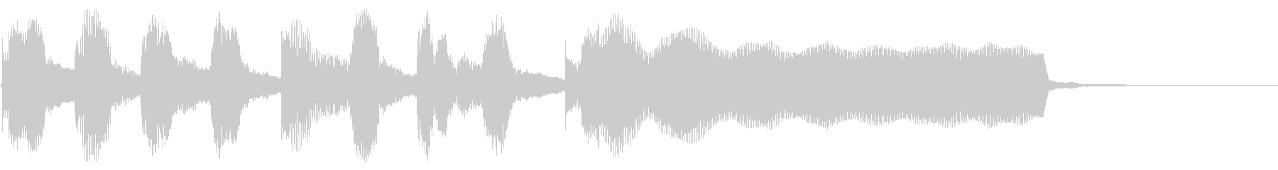 あかるい リコーダー トイピアノの未再生の波形