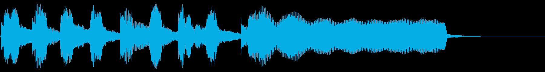 あかるい リコーダー トイピアノの再生済みの波形