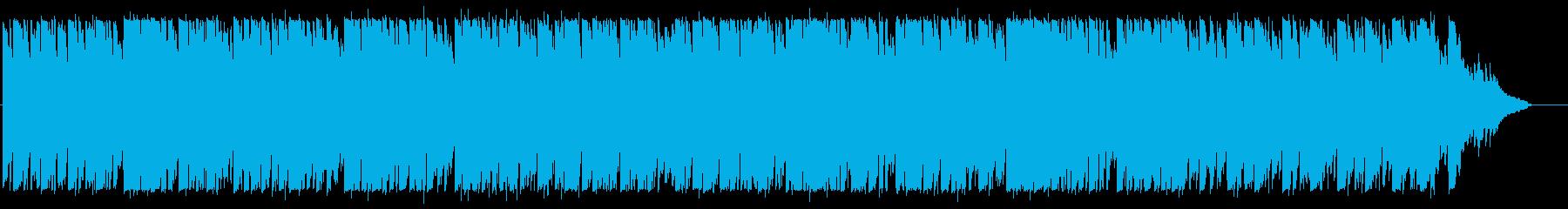 優しいリコーダーポップの再生済みの波形