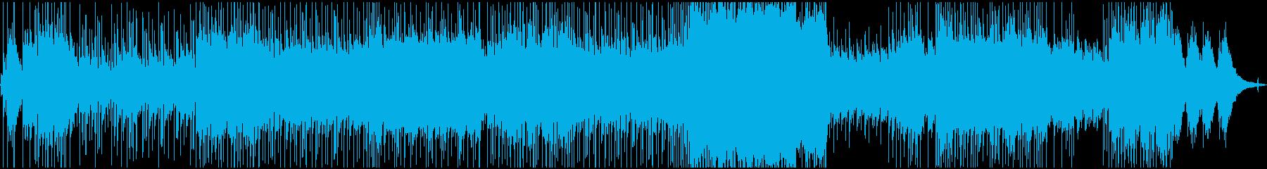 箱庭デイジーの再生済みの波形