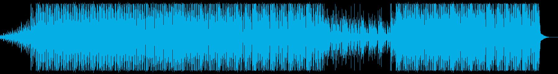 爽やかで運動時にぴったりトロピカルハウスの再生済みの波形