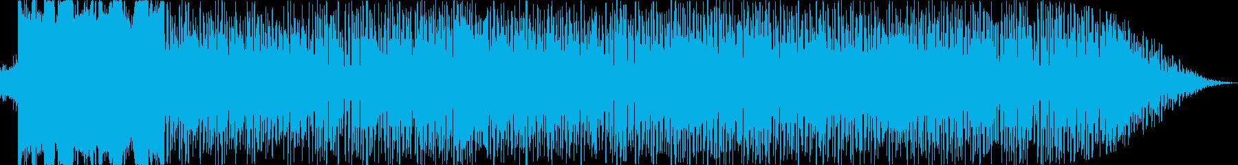 8bit風チューン(はじまり・ワクワク)の再生済みの波形