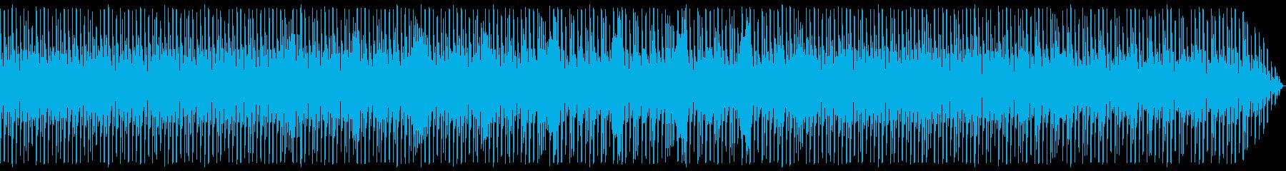 ロービットなあれた感じのテクノの再生済みの波形