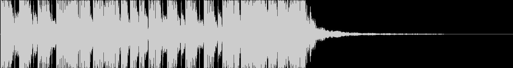 EDM オープニング キラキラ 8の未再生の波形