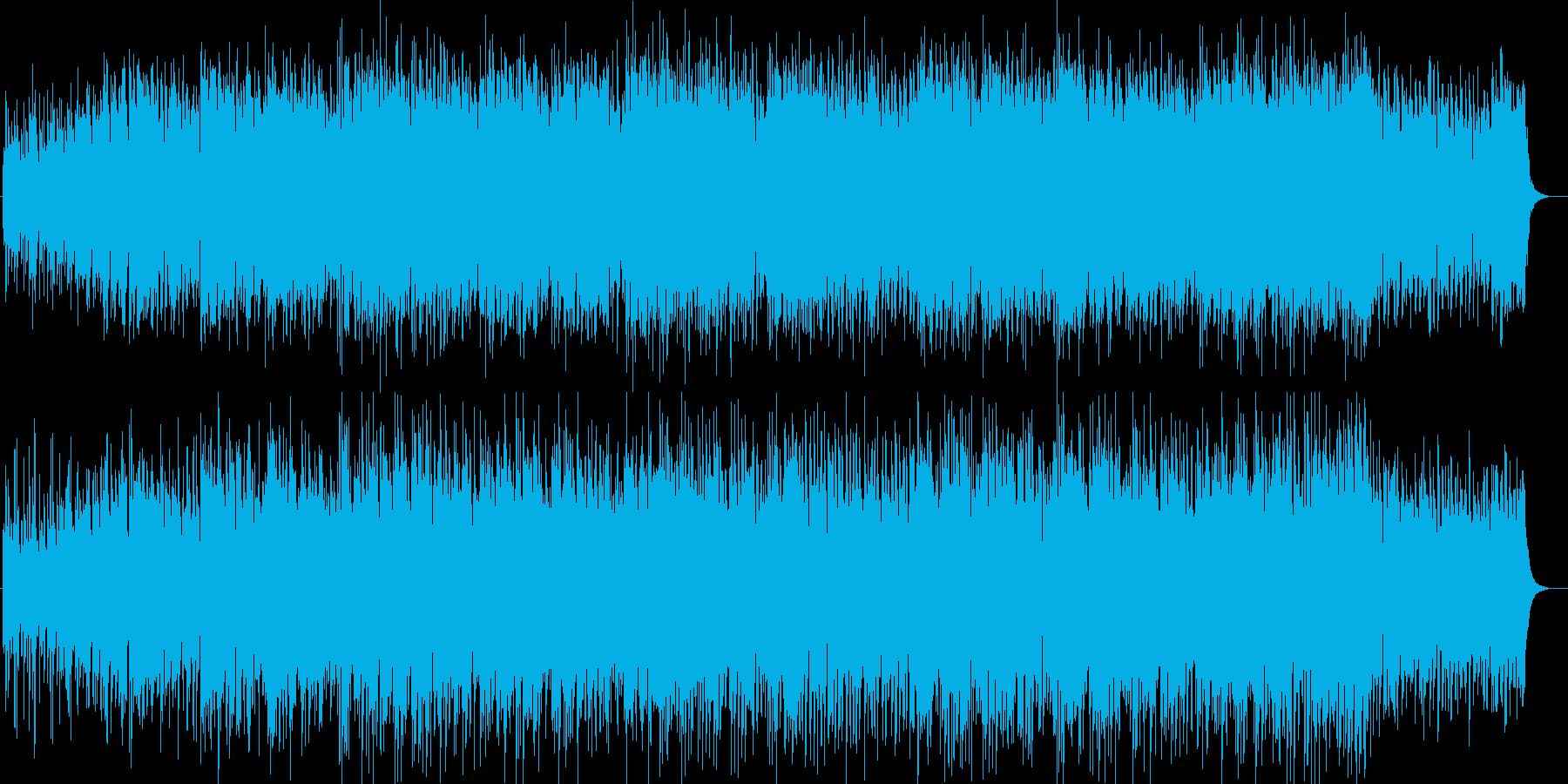 ギターの音色で軽快なテンポのポップスの再生済みの波形