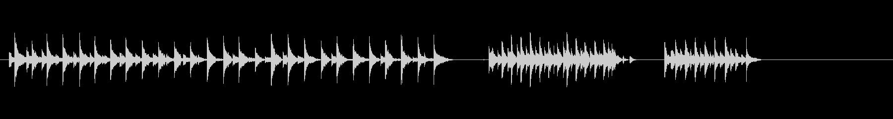 ベル-手の未再生の波形