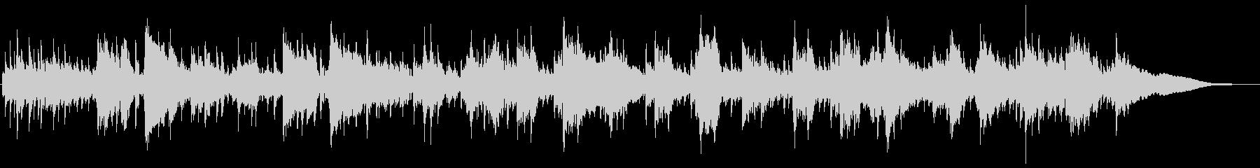 5拍子エスニックなサックスメインの曲の未再生の波形