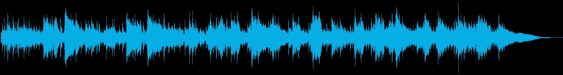 5拍子エスニックなサックスメインの曲の再生済みの波形