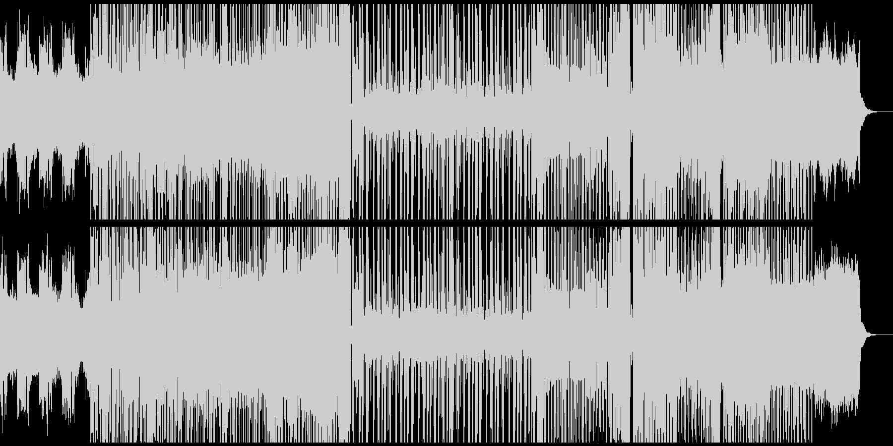 騒がしめなdubstepの未再生の波形