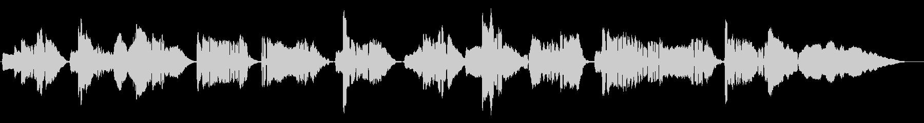ピアニカとサックスのデュオの未再生の波形