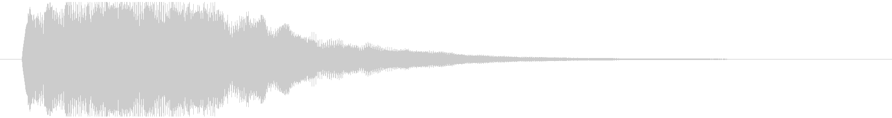 サウンドロゴ、場面転換、アイキャッチ等の未再生の波形