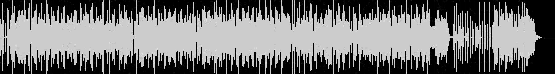 アーバン・ダンサブルポップスのカラオケの未再生の波形