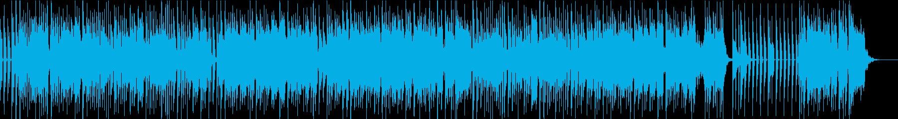 アーバン・ダンサブルポップスのカラオケの再生済みの波形