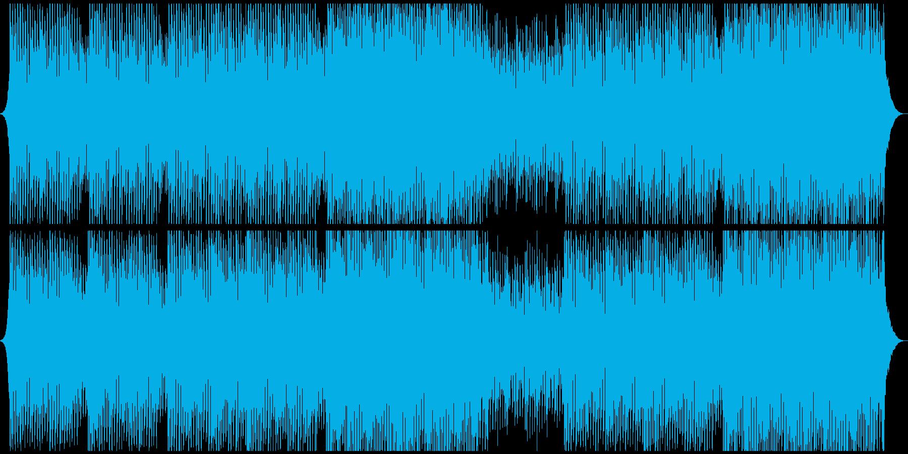 感動的でやる気があり、楽観的な企業音楽の再生済みの波形