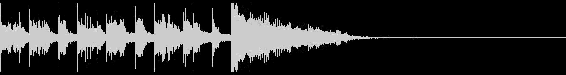 ジングル・アイキャッチ_Bの未再生の波形
