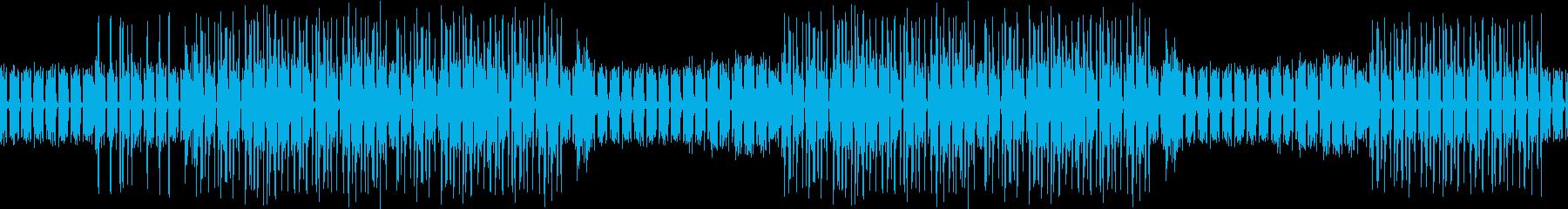 シティ・お洒落・ギター・ネオン・ループの再生済みの波形