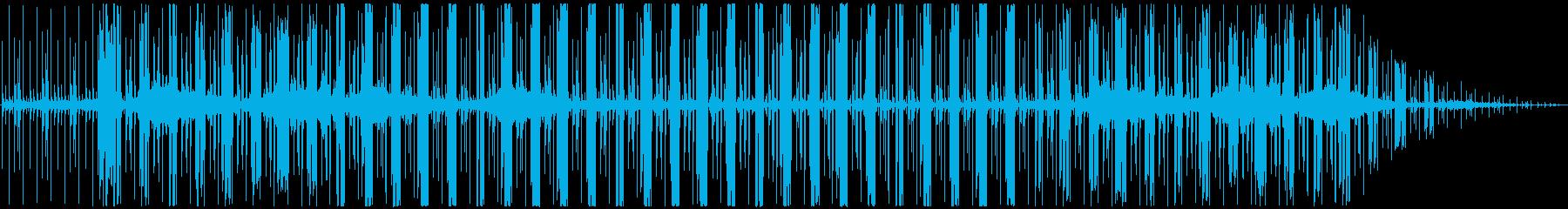プログレッシブハウス。ピンクフロイ...の再生済みの波形