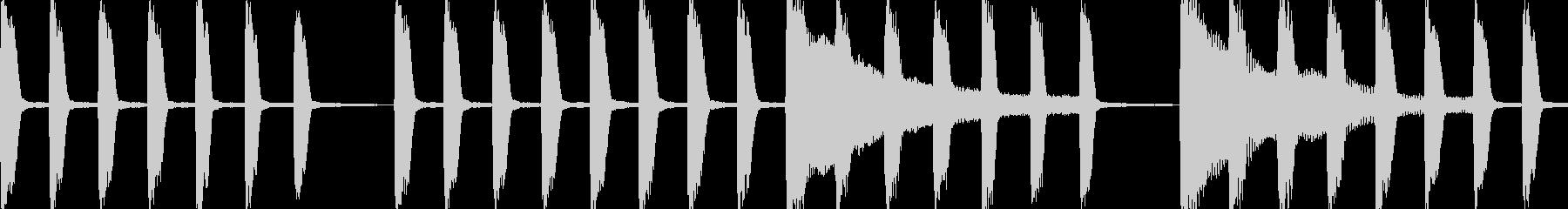 サスペンスなピアノ劇伴_ループの未再生の波形