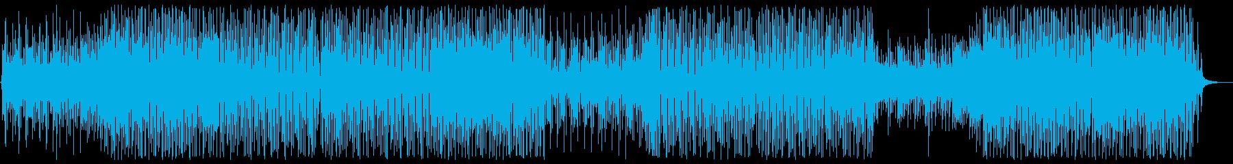 お洒落ポップなモダンミュージックの再生済みの波形
