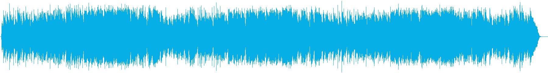 懐かしさのあるグループサウンド調の曲の再生済みの波形