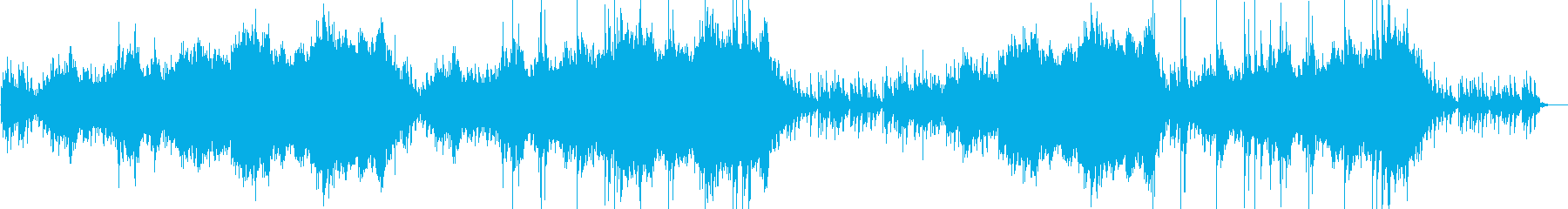 ミステリアス ホラー BGMの再生済みの波形