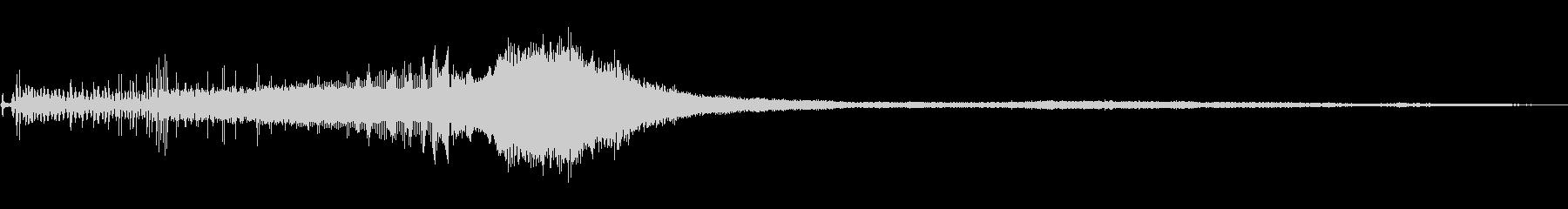 ヤマハ600:スタート、非常に高速...の未再生の波形