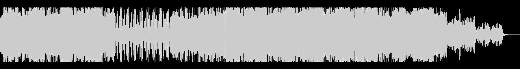 クールでサイバーなフューチャチールアウトの未再生の波形