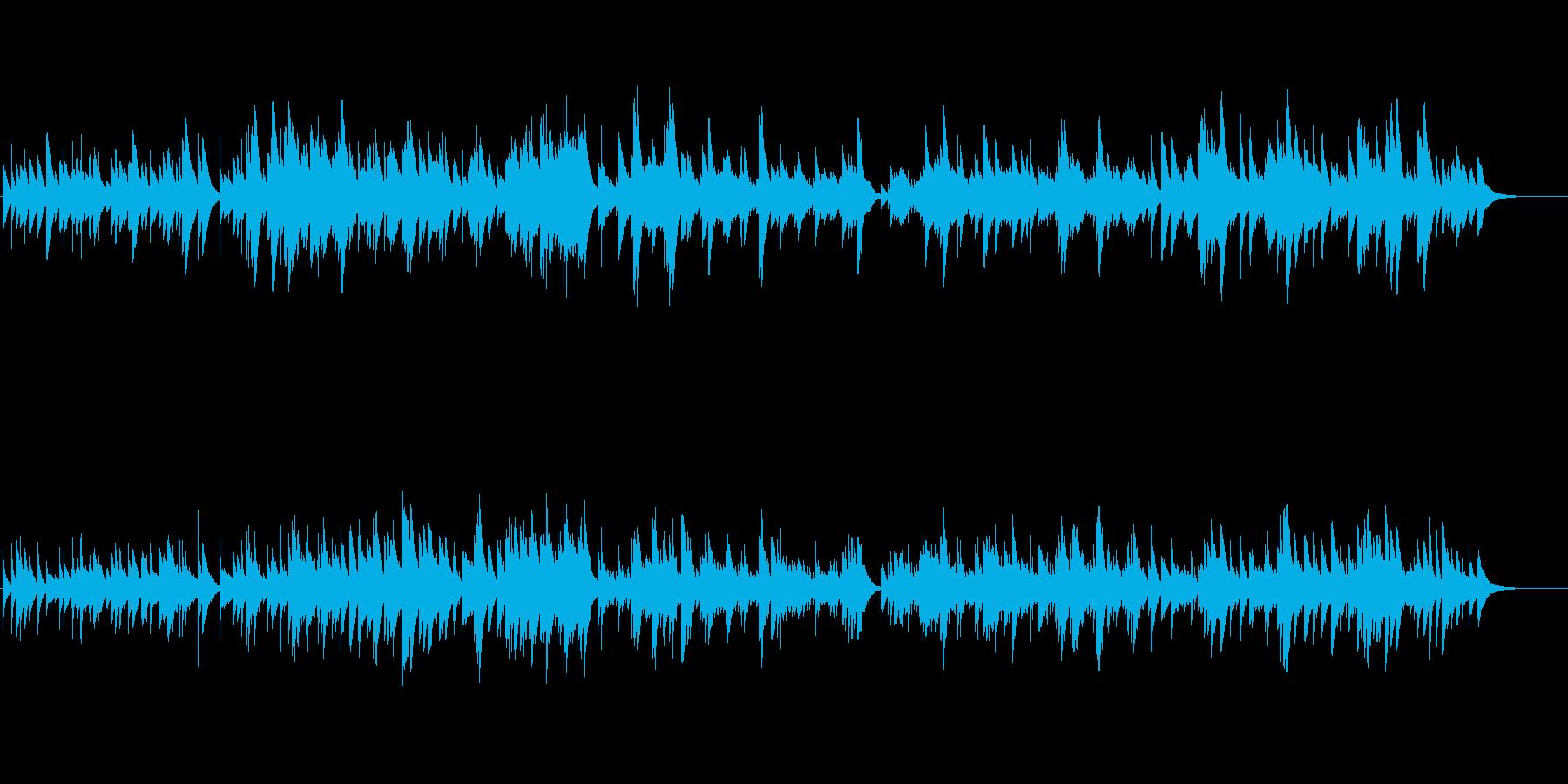 【オルゴール】天国/天使/光/救(短尺)の再生済みの波形