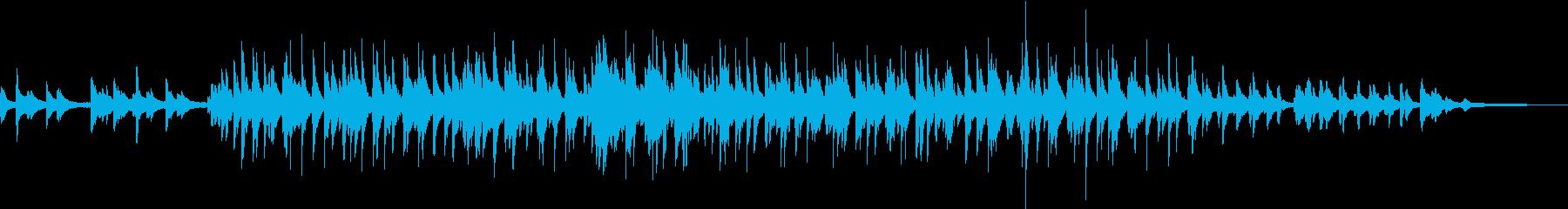 ピアノのメロディが爽やかでポップな楽曲の再生済みの波形