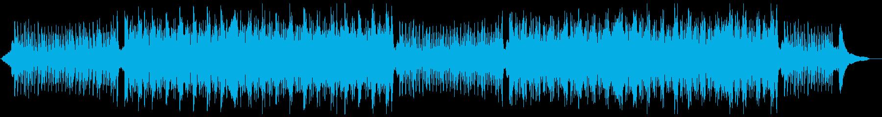 知的なピアノバイオリン:メロディ抜の再生済みの波形