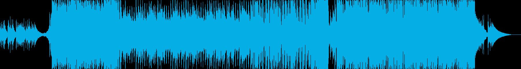 疾走感あるアニソン系ポップス楽曲 Sの再生済みの波形