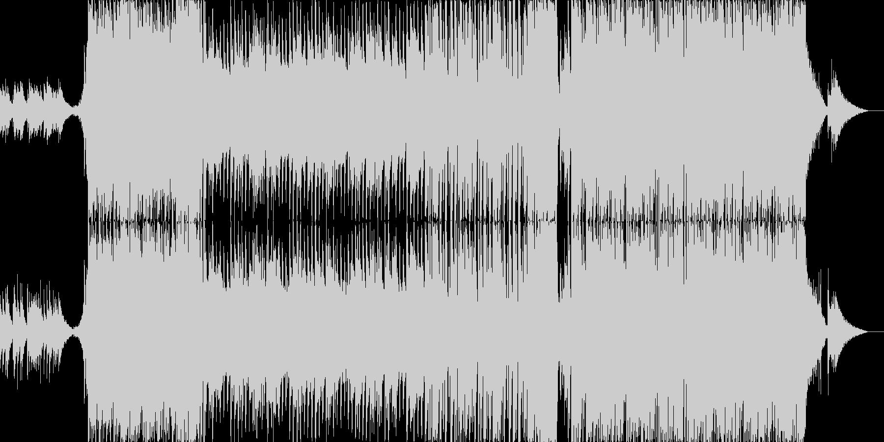 疾走感あるアニソン系ポップス楽曲 Sの未再生の波形