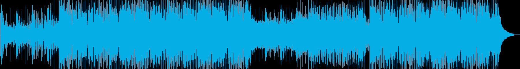サマーパーティークラブプロモーションの再生済みの波形