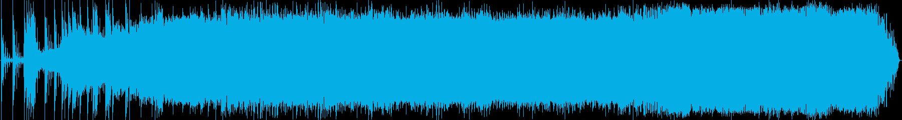 ビンテージ。ホバリング、エコー付き...の再生済みの波形
