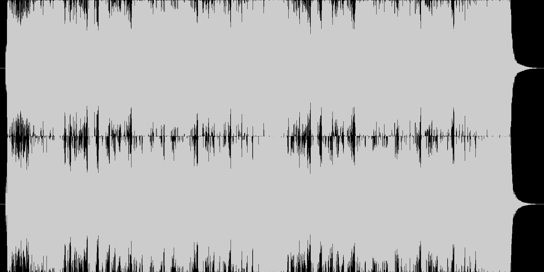 荘厳で威厳のある華麗なオーケストラ合唱付の未再生の波形