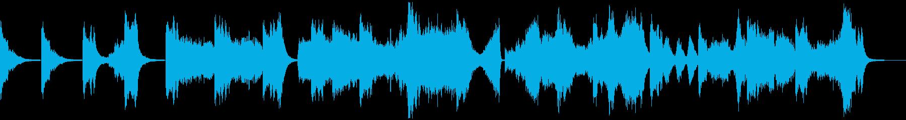 銀河連邦を夢想してみた音楽の再生済みの波形