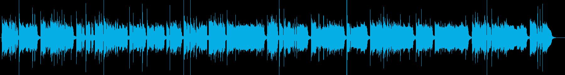 主旋律が強めのハードボイルドなジャズの再生済みの波形