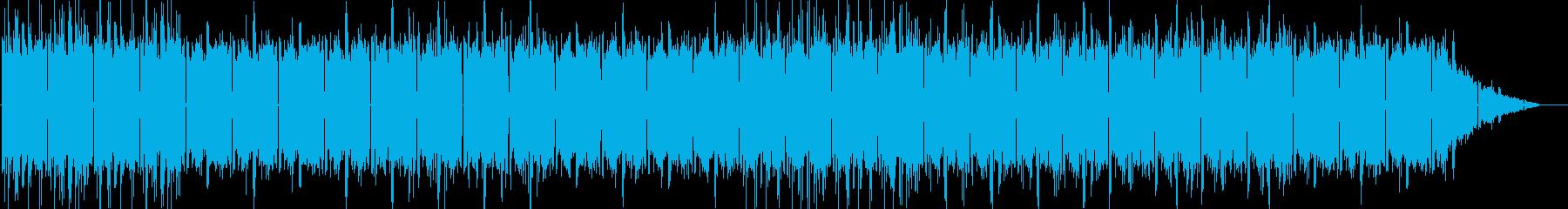 オリエンタルなテイストのHiphopの再生済みの波形