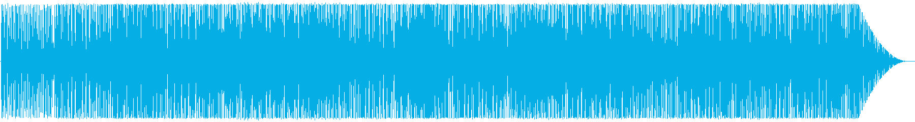 Deep House系インスト曲2の再生済みの波形