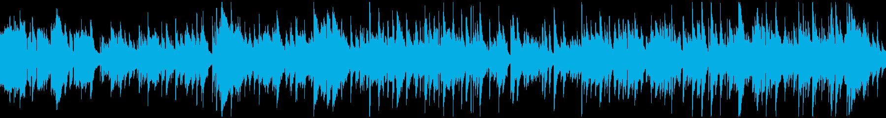センチメンタル憂鬱系バラード ※ループ版の再生済みの波形
