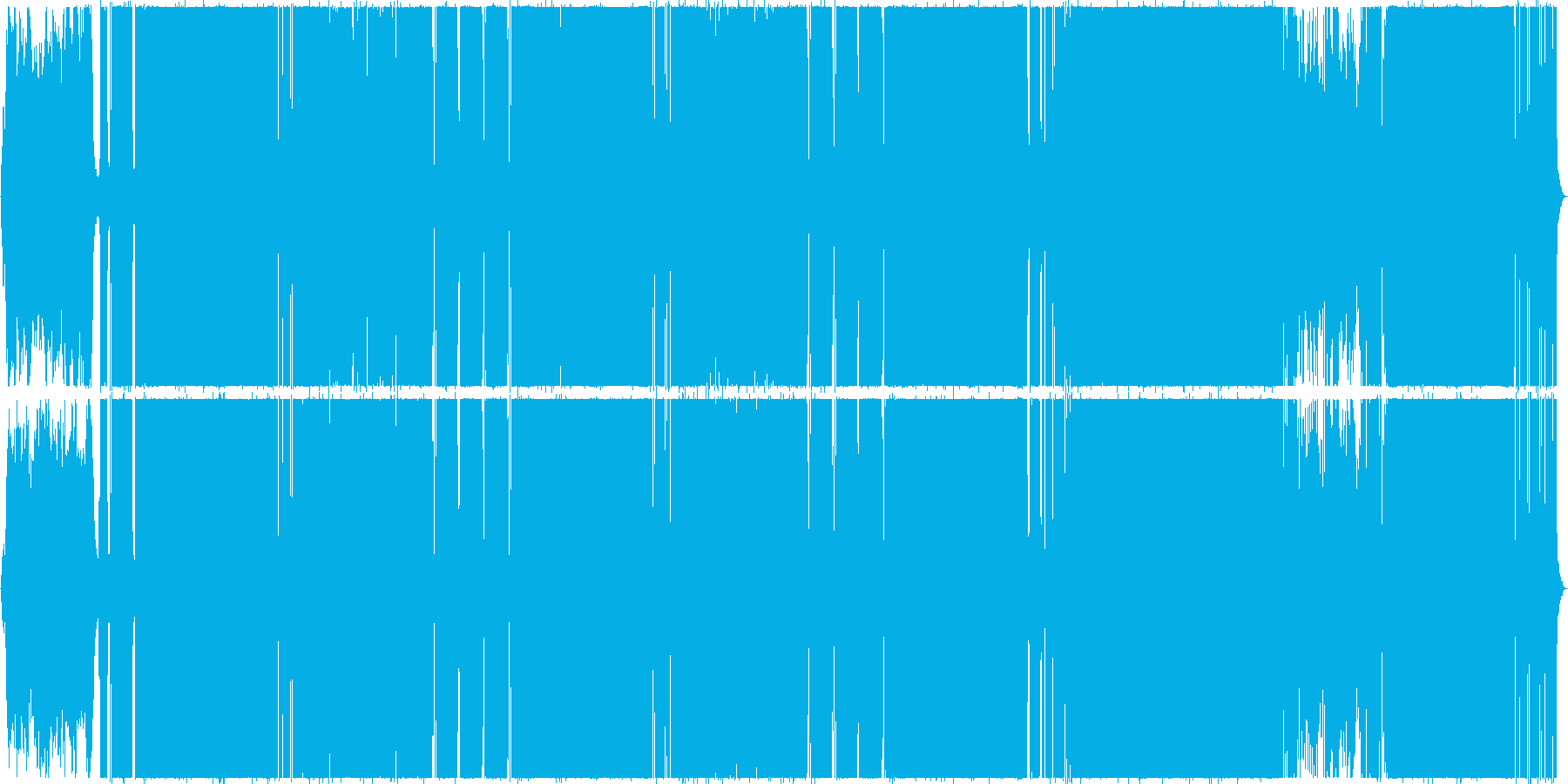 ゴージャスでファンタジックなポップスの再生済みの波形