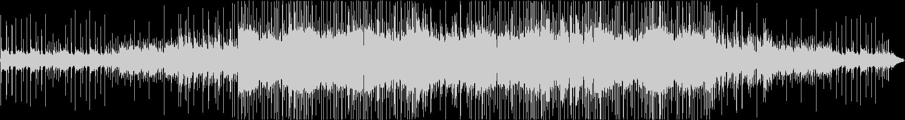 虫の声と切ないピアノのヒップホップ#01の未再生の波形