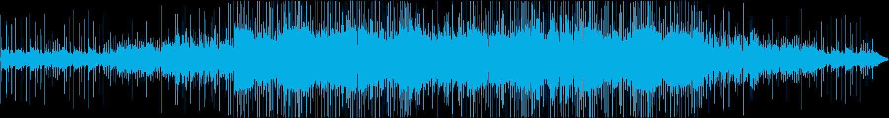 虫の声と切ないピアノのヒップホップ#01の再生済みの波形