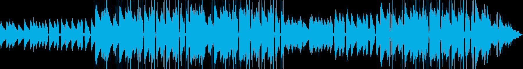 おしゃれvlog系Lofi Hiphopの再生済みの波形