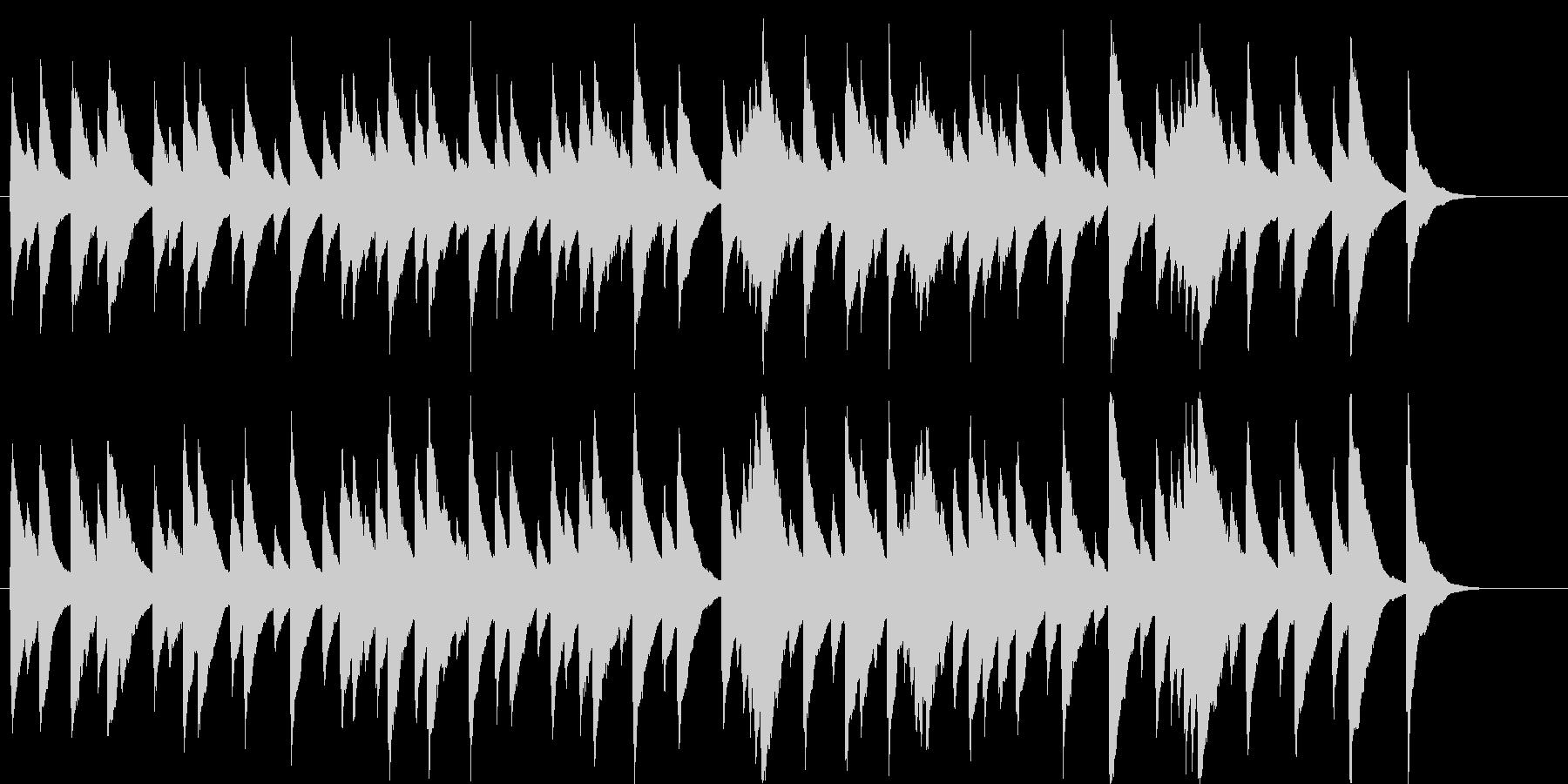 オルゴール楽曲です。24bit,48k…の未再生の波形