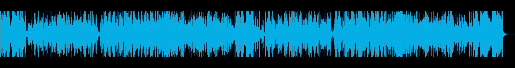 明るく爽やか、スピーディなジャズの再生済みの波形